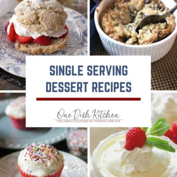 a picture of strawberry shortcake, chocolate chip cookie, a cupcake and vanilla pudding.